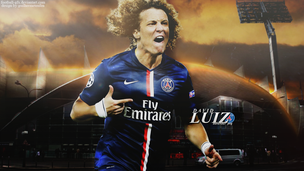 Wallpaper David Luiz By Football-gfx On DeviantArt
