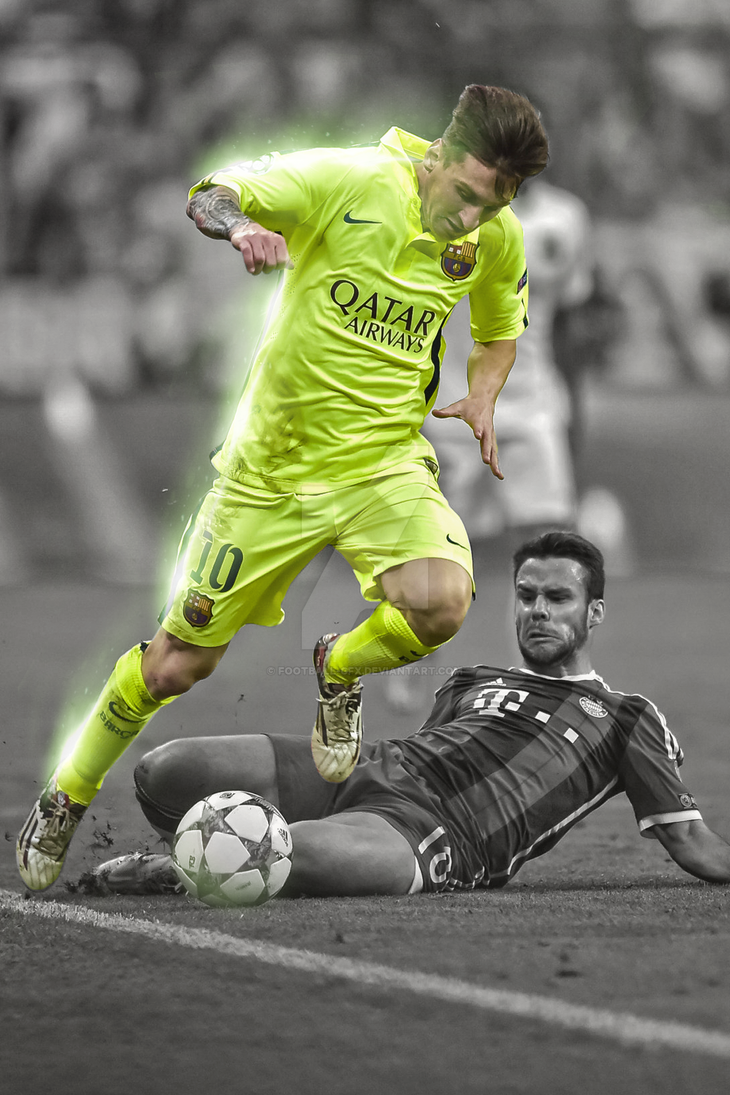 Lionel Messi 2015 By Football Gfx