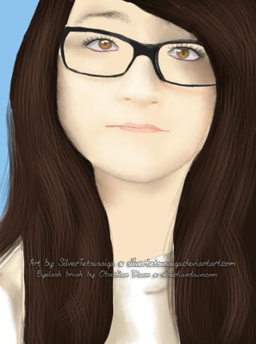 Kayla - Birthday Gift Portrait by SilverTetsusaiga