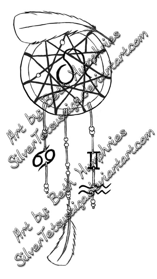 Dream Catcher Tattoo by SilverTetsusaiga