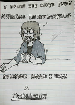 College Life 2- Morning Coffee (My Redminus Meme )