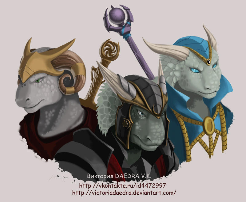 My_Nerevarine_and_his_sons by VictoriaDAEDRA
