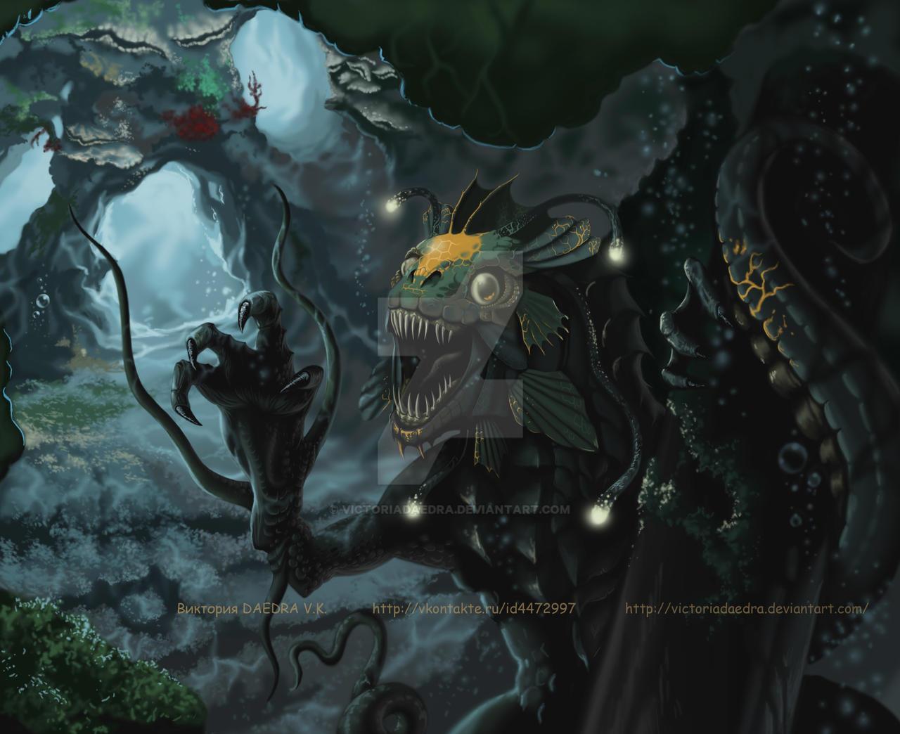 Dagon_2 by VictoriaDAEDRA