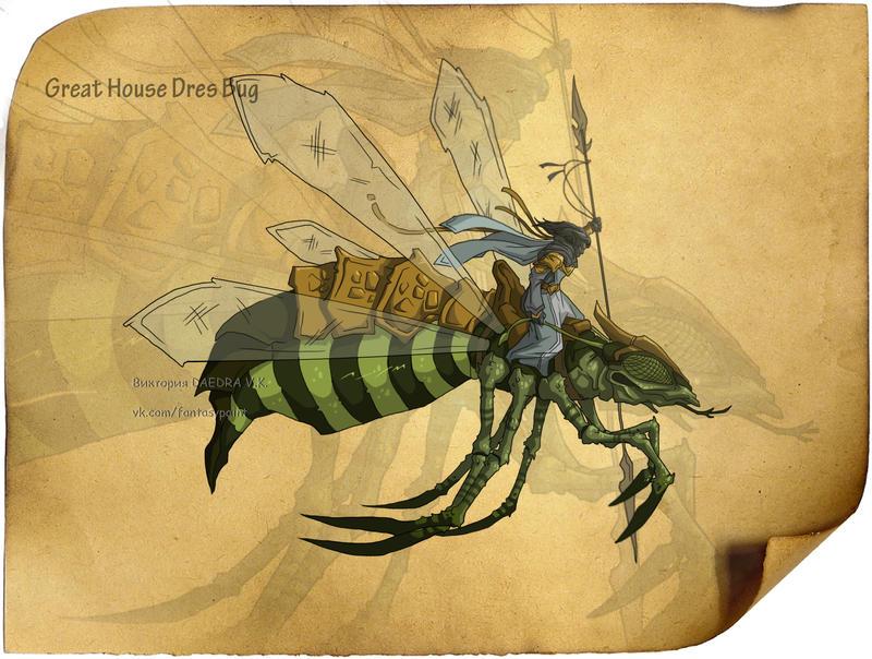 Dres Bug by VictoriaDAEDRA