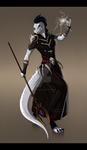 [Commission] Argonian Vampire