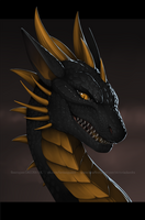 [COMM] Dragon Headshot