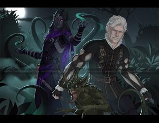 Varaun and Astarion