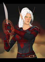 [Commission] Blood Elf