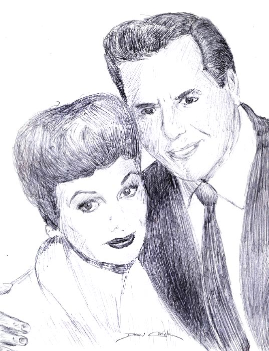 Lucy and Ricky