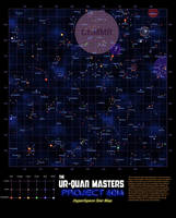 Project 6014: Star Map BLUE by dczanik