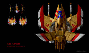 Re-Imagined Sartha Concept (from Wing Commander 2) by dczanik