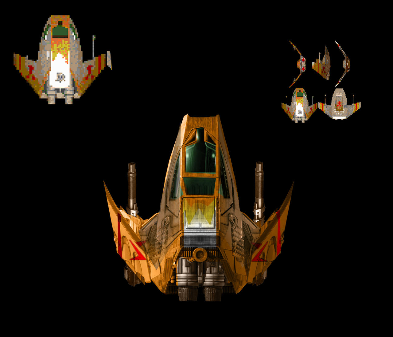 Re-Imagined Salthi Concept (Wing Commander)