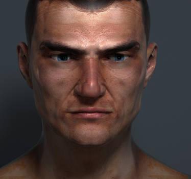 Photo-realistic Male  - Work in progress2