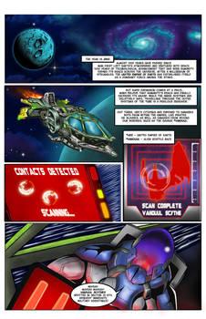 Page 1 - Hunter WebComic