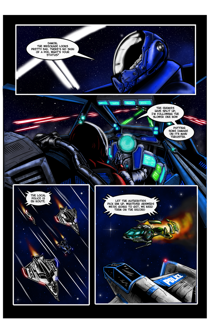 Page12 - Hunter: Star Citizen Web Comic by dczanik