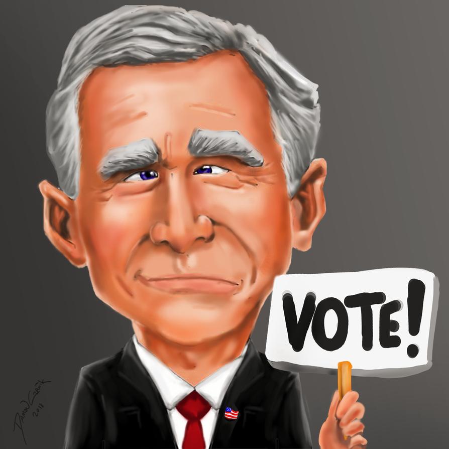 Georgwbush-dubya-votepng by dczanik
