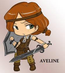 Chibi Aveline by SilverHyena
