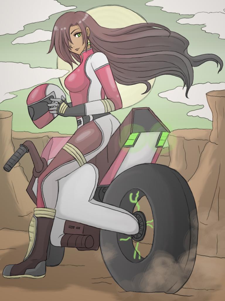 Really. anime bikergirls