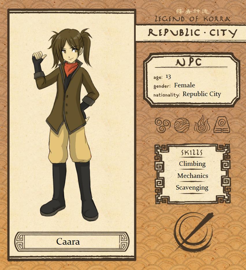 RC: NPC Caara by SilverHyena