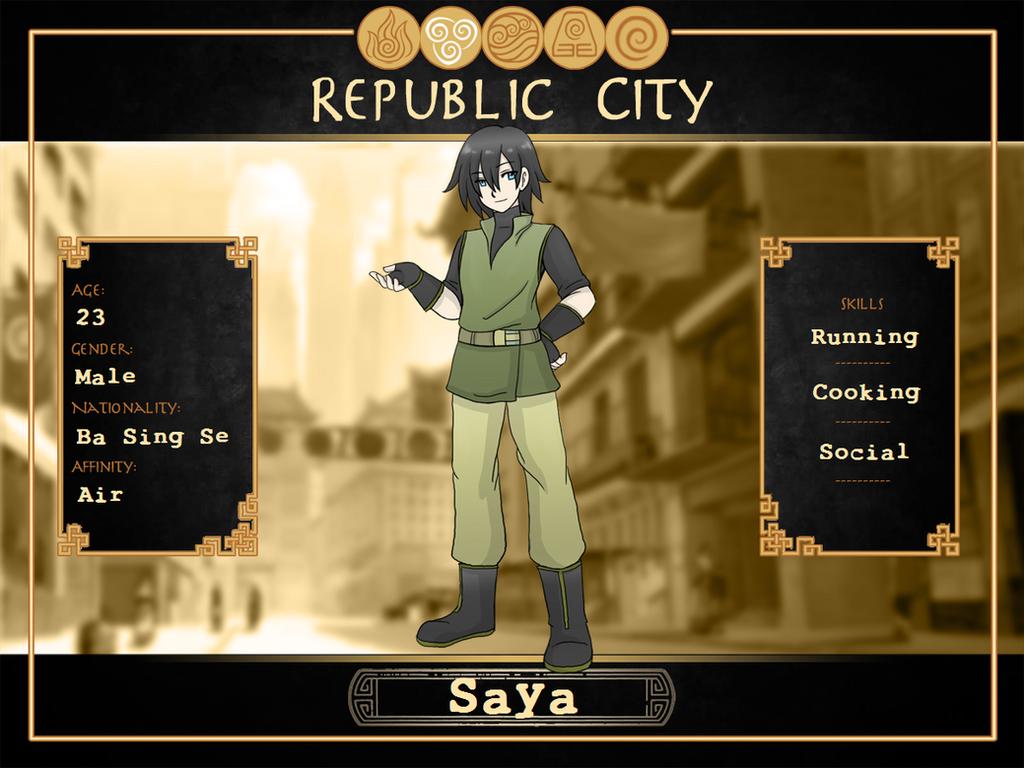 Saya Profile Copy by SilverHyena