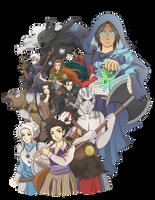 Critical Role by SilverHyena