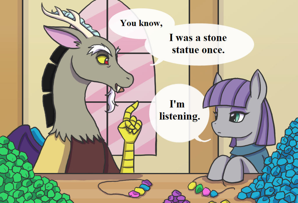 MLP:  Discord and Maud