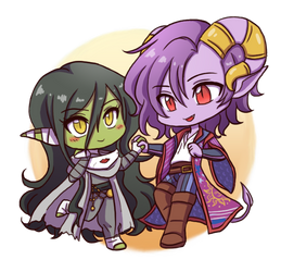 CR: Chibi Nott and Molly