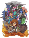 Critical Role : The Mighty Nein