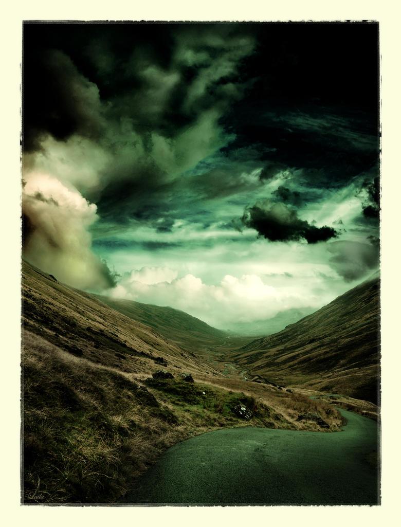 Dark Landscape by dreamsofwinter