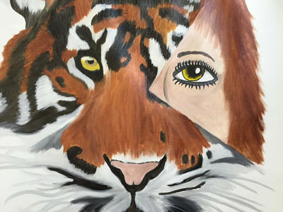 Tiger by Jessicaxoxo4