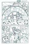 Spera: Glass Flowers p.04 line art by JoaoLemos