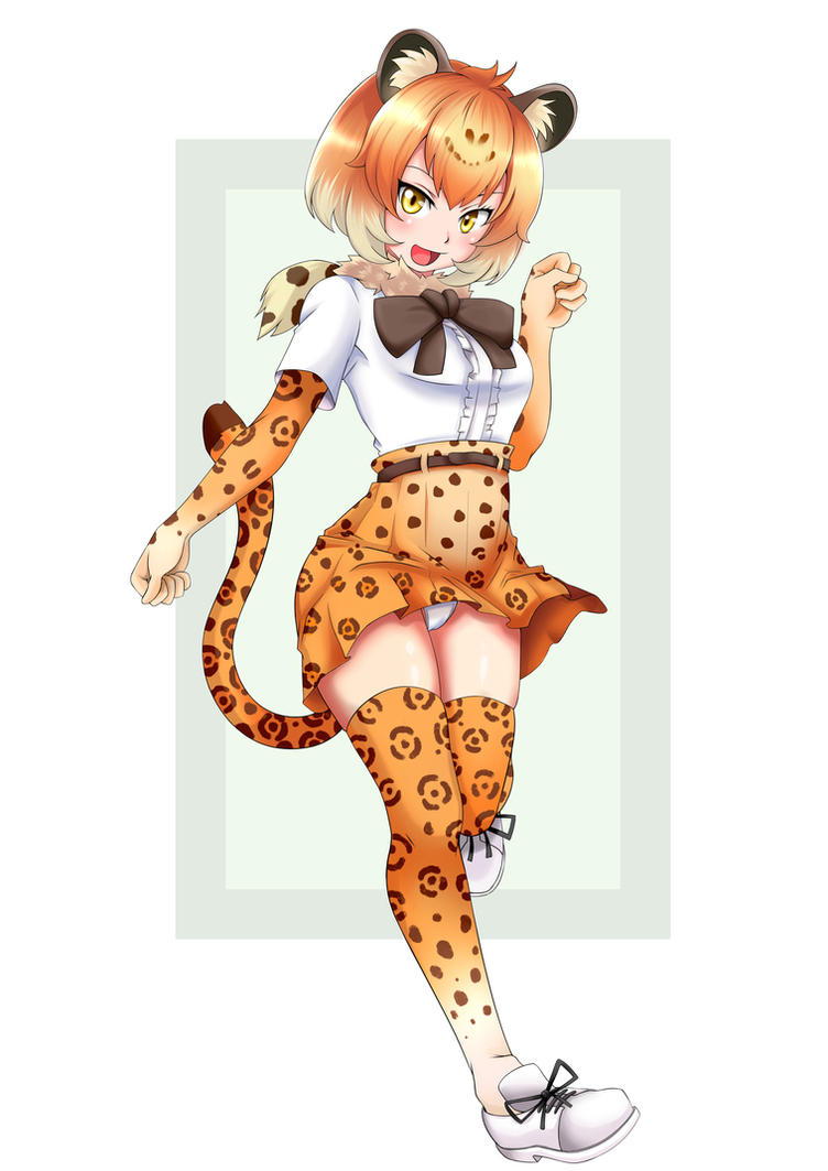 Kemono Friends Jaguar Soft Shade by revista-paradoja