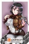 Mikasa Fan art