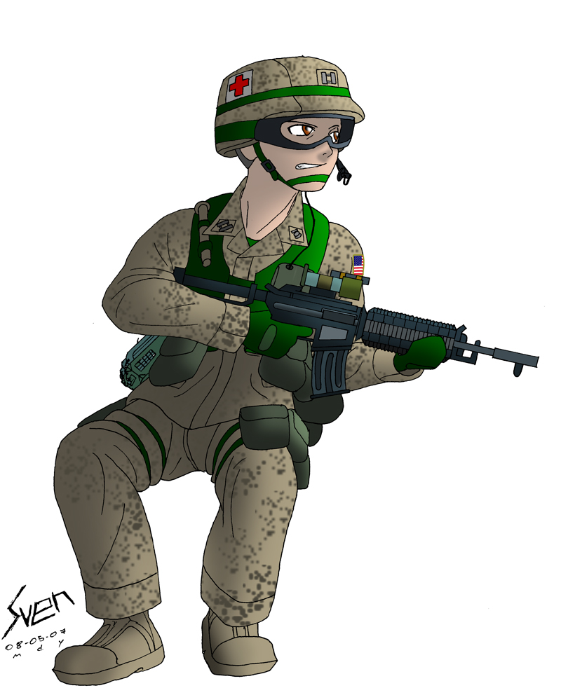 anime soldier