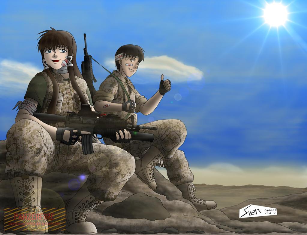 Between Battlefields by Panzerfire