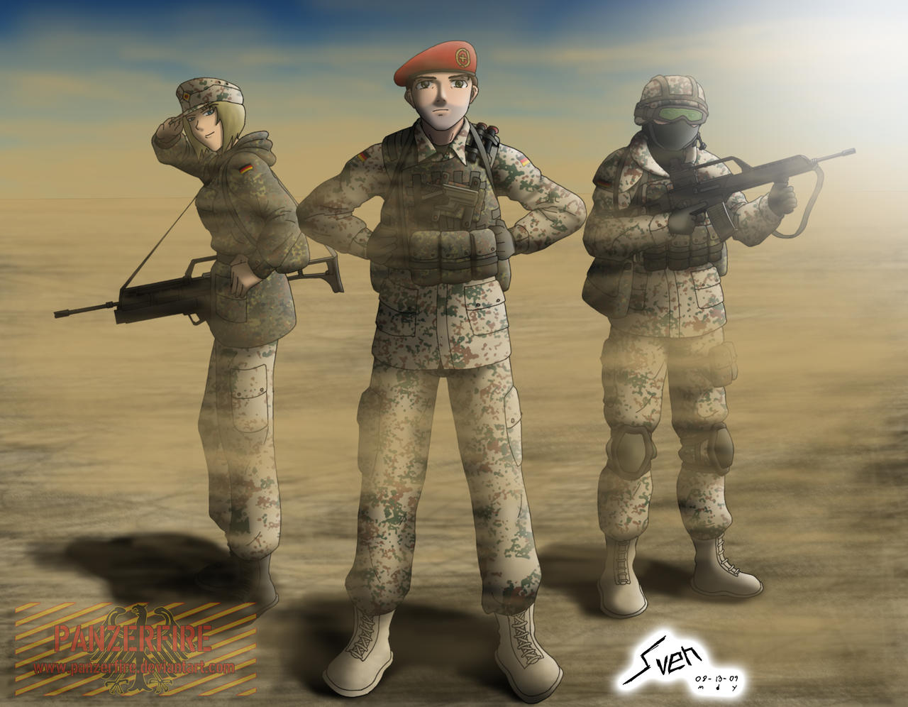 It's 'Ze' Germans by Panzerfire