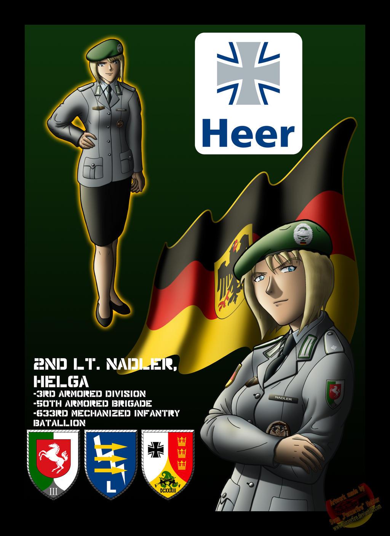 Helga Nadler by Panzerfire
