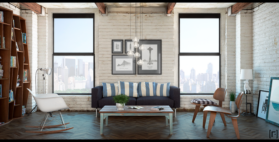 NY Loft 003 by the-f-render