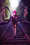 KDA Evelynn cosplay by Anne M by annemcosplay