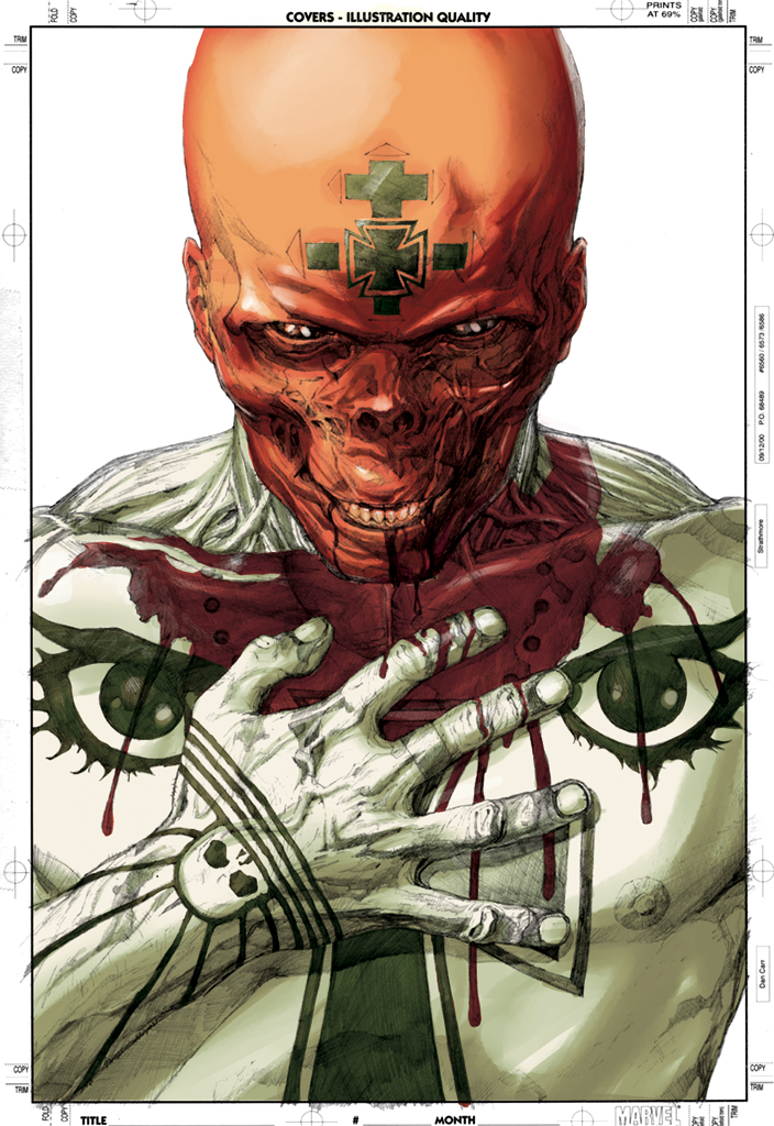 Red Skull by JosueRodas