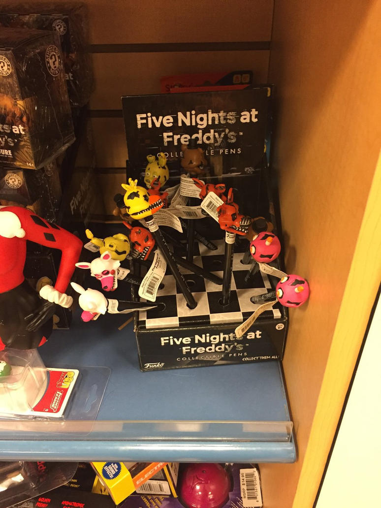 The FNaF Pens! by Ronylicous ...
