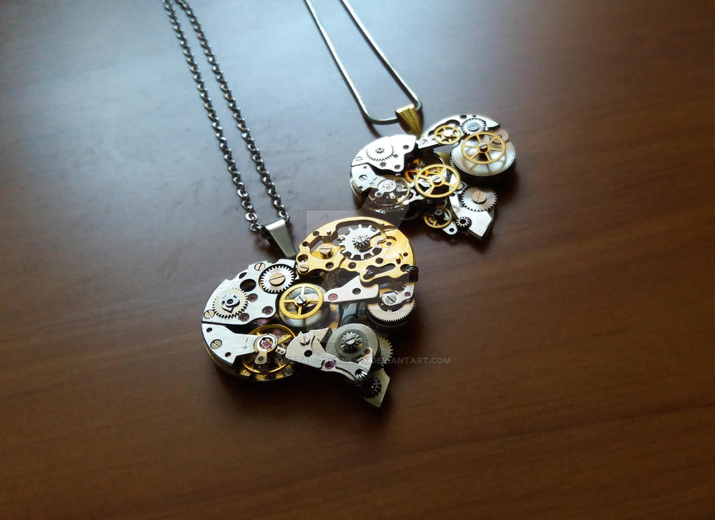 sold necklace jlh clockwork steampunk hilton jen
