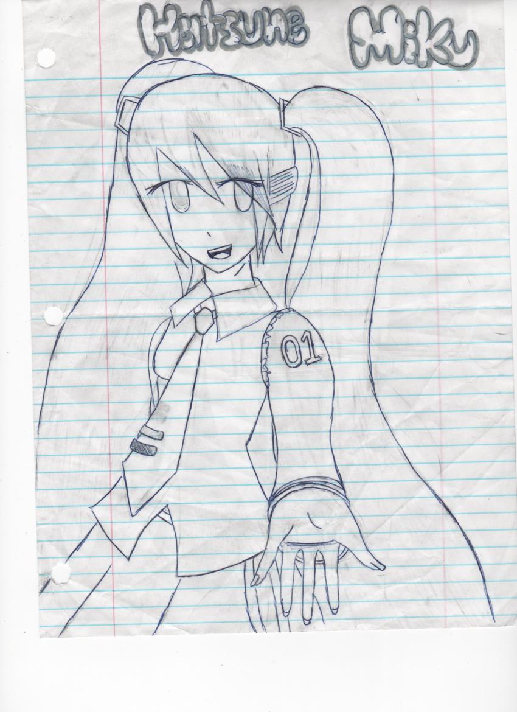 Hatsune Miku by xXHikariKunXx