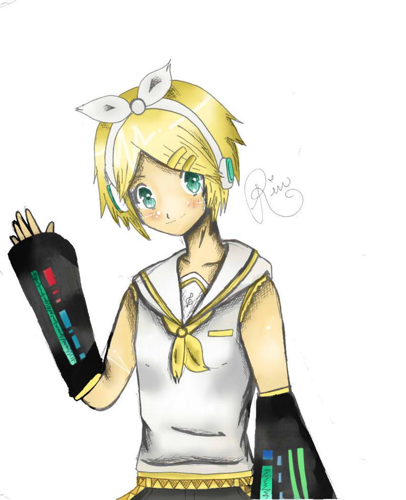 Rin-chan -Vocaloid- by xXHikariKunXx