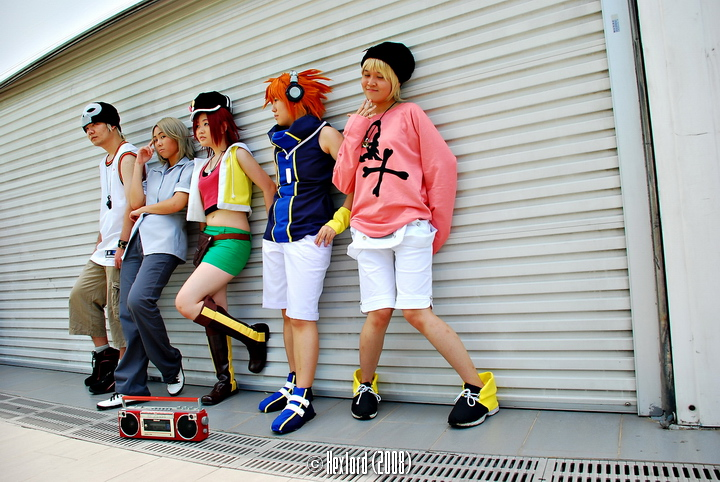 TWEWY at Cosfest 2008 by hikaraseru