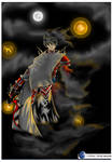 Shadow Kinght colored by Tenshi-1