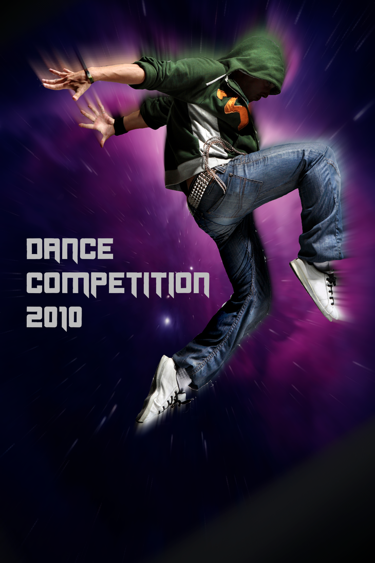 Dance Competition Poster By MASVHARU