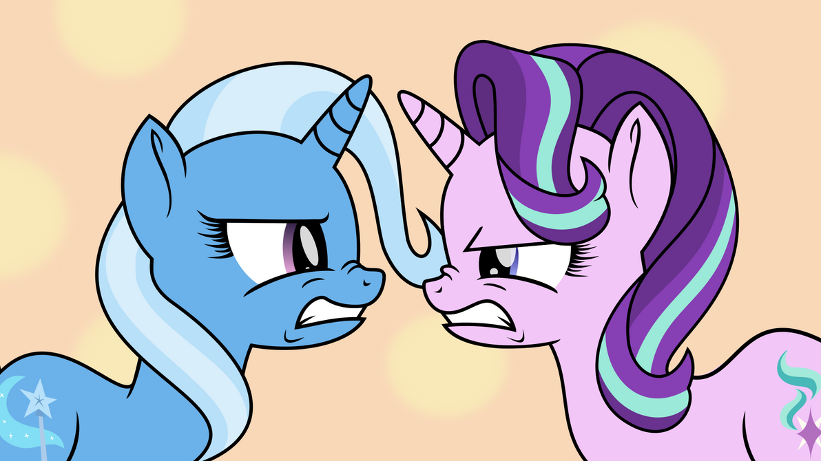 Starlight and Trixie- I Hate Her More! by 462gha