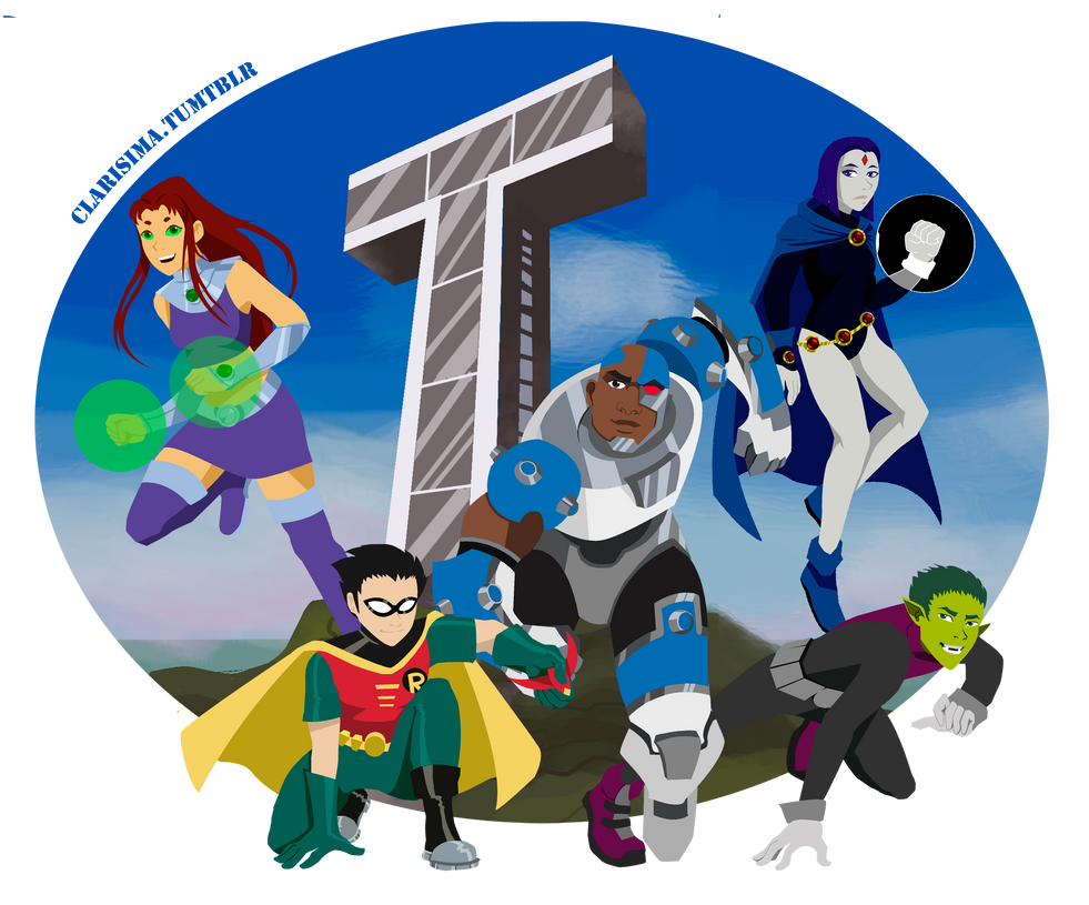 Teen Titans Group 77