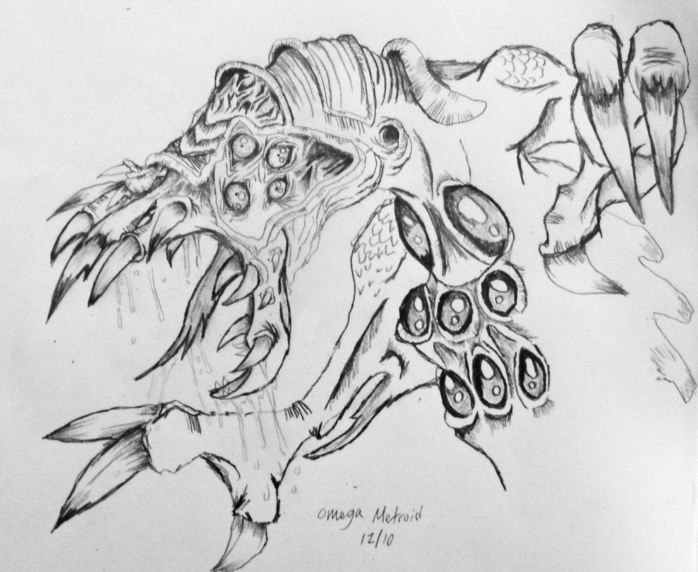 Omega Metroid by Maridia99